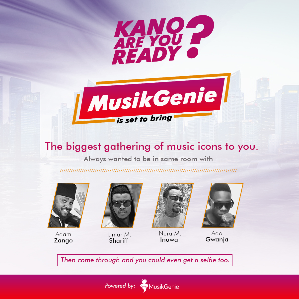 MUSIKGENIE SIGNS MAJOR DEAL WITH NORTHERN A-LIST ARTISTES