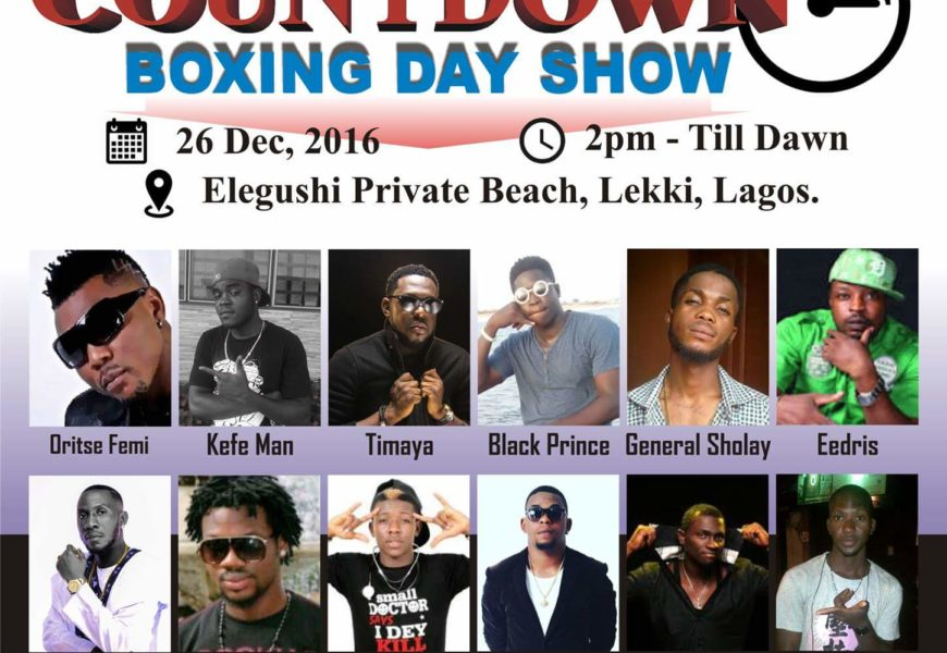 Elegushi Countdown Boxing Day Show